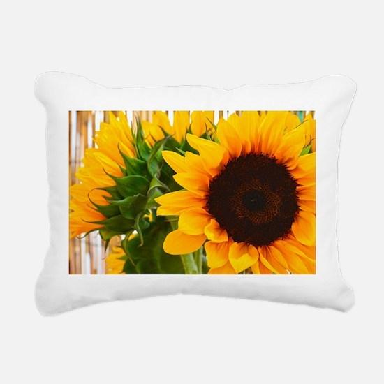 Unique Sunflower Rectangular Canvas Pillow