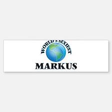World's Sexiest Markus Bumper Bumper Bumper Sticker