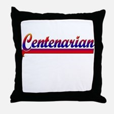 Centenarian Throw Pillow