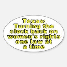 Texas: Turning the - Decal
