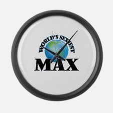 World's Sexiest Max Large Wall Clock