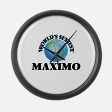 World's Sexiest Maximo Large Wall Clock