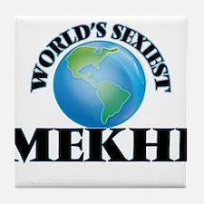 World's Sexiest Mekhi Tile Coaster