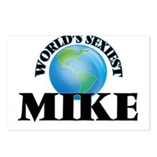 World's Sexiest Mike Postcards (Package of 8)