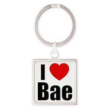 I Love Bae Keychains