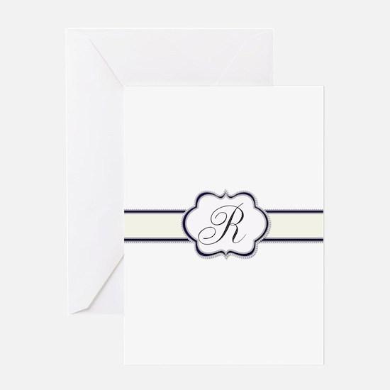 Elegant Monogram by LH Greeting Cards
