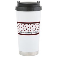 Unique Ladybug Travel Mug