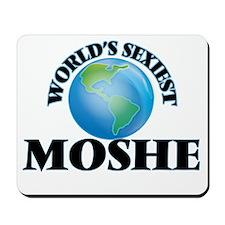 World's Sexiest Moshe Mousepad