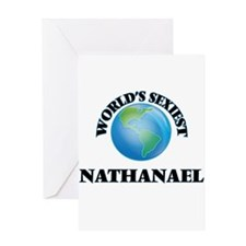 World's Sexiest Nathanael Greeting Cards