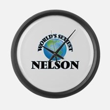 World's Sexiest Nelson Large Wall Clock
