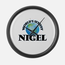 World's Sexiest Nigel Large Wall Clock
