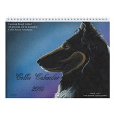 Collie Calendar 2015 Wall Calendar