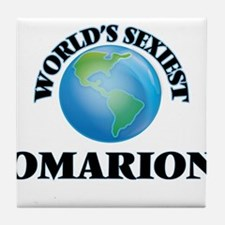 World's Sexiest Omarion Tile Coaster