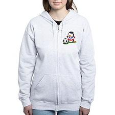 Soccer Penguin Zip Hoodie