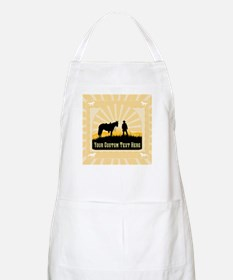 Add Text Cowboy Apron