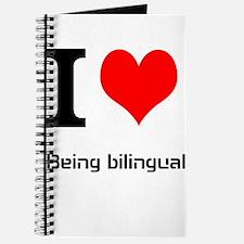 I love being bilingual Journal