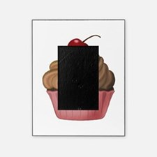 Sweet Pink and Brown Cupcake Picture Frame