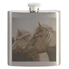 Icelandic Pony Duo Flask