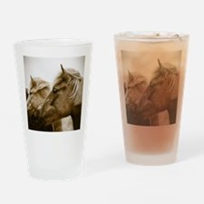 Icelandic Pony Duo Drinking Glass