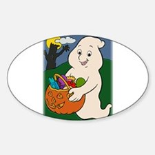 Trick or Treat Ghost Decal