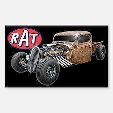 Rust Rat Sticker (Rectangle)