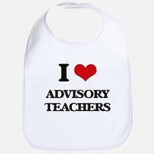 I love Advisory Teachers Bib