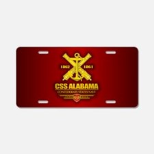 CSS Alabama Aluminum License Plate