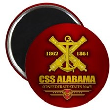 CSS Alabama Magnets