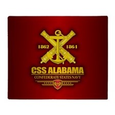 CSS Alabama Throw Blanket