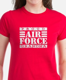 Proud Air Force Grandma Tee