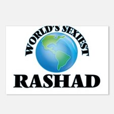 World's Sexiest Rashad Postcards (Package of 8)
