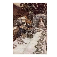 Mad Tea Party Postcards (Package of 8)