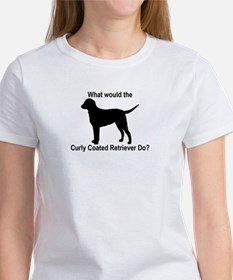 What would the Curly Coated R Women's T-Shirt