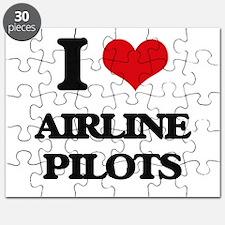 I love Airline Pilots Puzzle