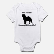 What would the Norwegian Elkh Infant Bodysuit