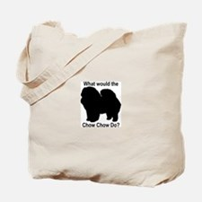 What would the Chow Chow do Tote Bag