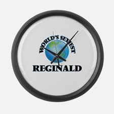 World's Sexiest Reginald Large Wall Clock