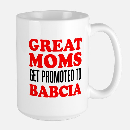 Promoted To Babcia Drinkware Mugs