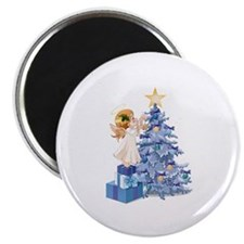 "Christmas Tree Angel- 2.25"" Magnet (10 pack)"