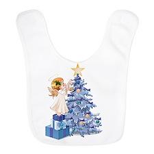 Christmas Tree Angel- Bib