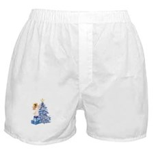 Christmas Tree Angel- Boxer Shorts