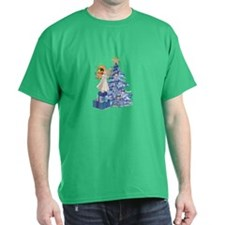 Christmas Tree Angel- T-Shirt