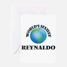 World's Sexiest Reynaldo Greeting Cards