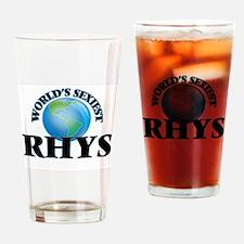 World's Sexiest Rhys Drinking Glass