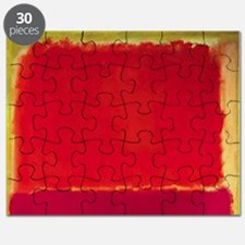 ROTHKO RED PINK YELLOW Puzzle