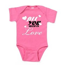 All you need is love Baby Bodysuit