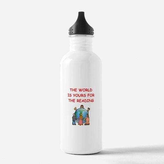 read Water Bottle