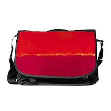 ROTHKO RED PINK YELLOW Messenger Bag