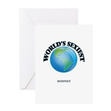 World's Sexiest Rodney Greeting Cards