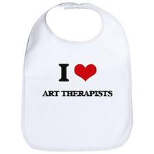 I love Art Therapists Bib